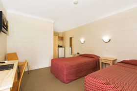 Single room at Nambour Lodge Motel